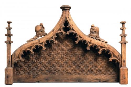 15th century Late Gothic French Baldachin