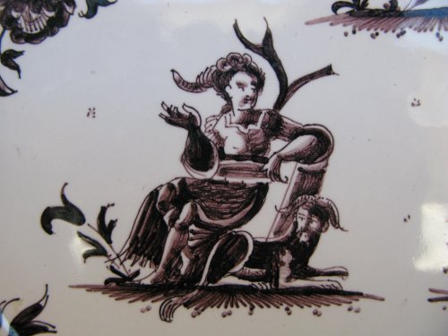18th century - 18th century MOUSTIERS Plate
