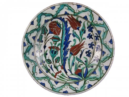 IZNIK dish, 18th century
