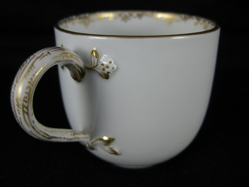 Directoire - MEISSEN porcelain cup and saucer, MARCOLINI period