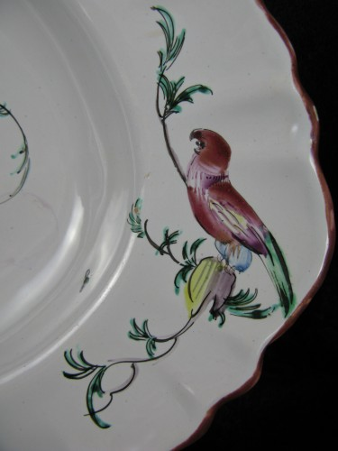 Large 18th century Moustiers faïence dish -