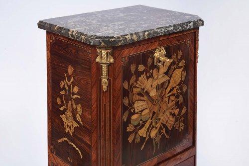 Furniture  - French  Louis XVI Secretaire de Dame stamped Jacques Bircklé