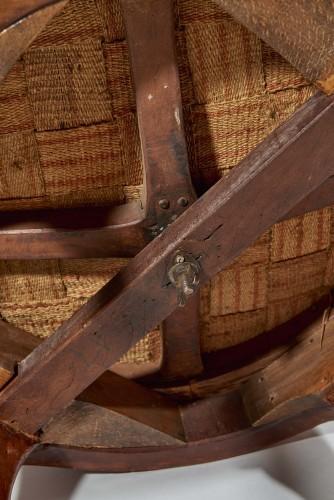 Seating  - A Louis XV rotating Fauteuil de bureau
