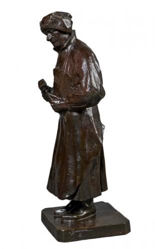 Bronze by Henri Bouchard representing Claus Sluter