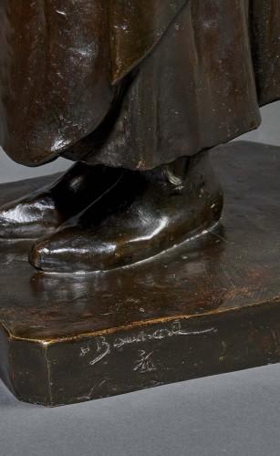 Sculpture  - Bronze by Henri Bouchard representing Claus Sluter