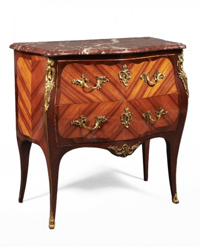 French Louis XV commode stamped Boudin