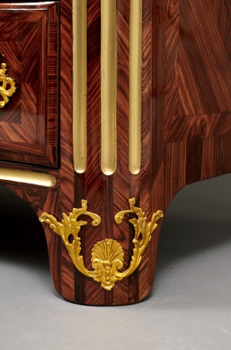 Louis XIV kingwood chest of drawers -