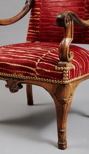 Large Louis XIV armchair - Seating Style Louis XIV