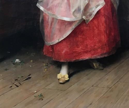 Wedding preparations -  Arturo Ricci (Florence 1854 - 1919) - Paintings & Drawings Style