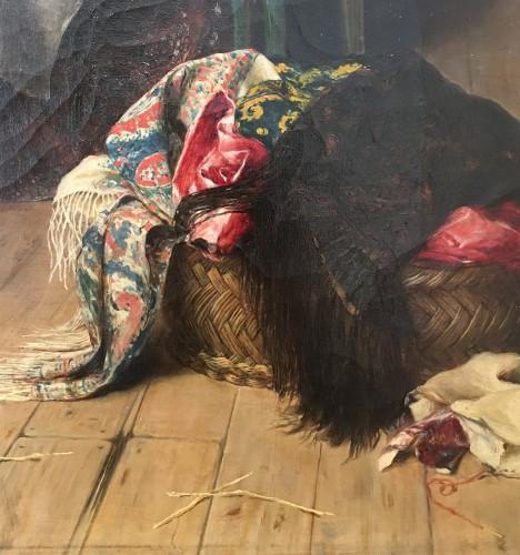 Wedding preparations -  Arturo Ricci (Florence 1854 - 1919) -