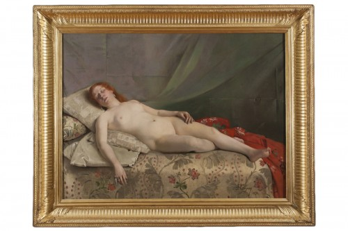 Nude young woman -  Jeanne Bordes-Guyon (?-1903)