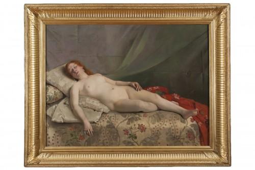 Nude young woman -  Jeanne Bordes-Guyon (?-1903)