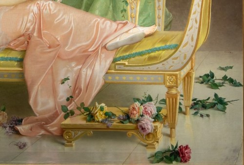 Paintings & Drawings  - Vittorio Matteo Corcos (1859-1933)  Maria Luisa Isabella Spada