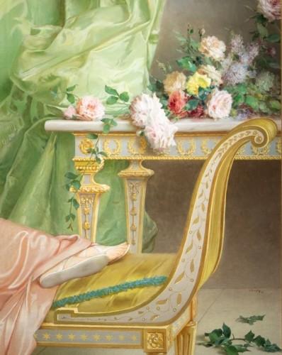 Vittorio Matteo Corcos (1859-1933)  Maria Luisa Isabella Spada -