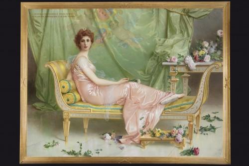 20th century - Vittorio Matteo Corcos (1859-1933)  Maria Luisa Isabella Spada