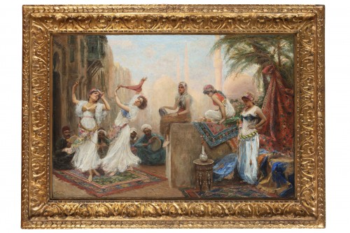 Orientalist scene - Fabio Fabbi (1861 1946)