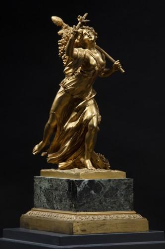 Gilt Bronze Sculpture Representing A Bacchant -