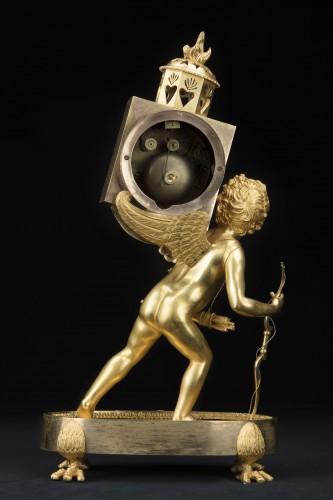 "Empire period pendulum ""Magic Lantern"" - Horology Style Empire"
