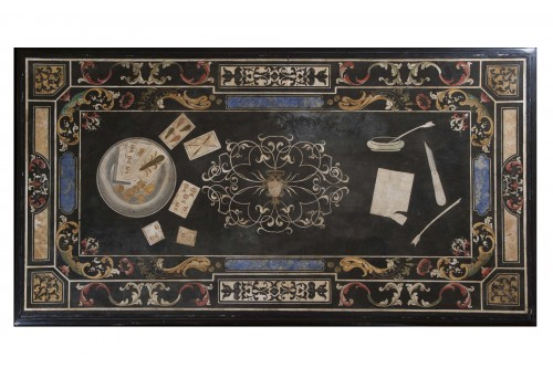17th Century Scagliola Top