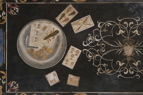 Decorative Objects  - 17th Century Scagliola Top