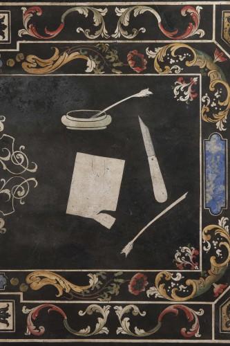 17th century - 17th Century Scagliola Top