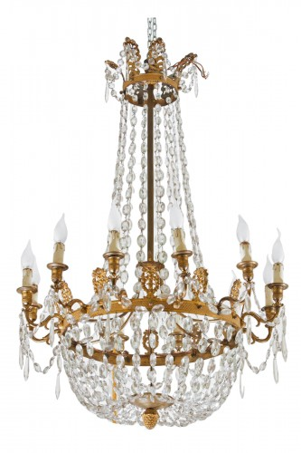 A Very Fine French Empire Chandelier