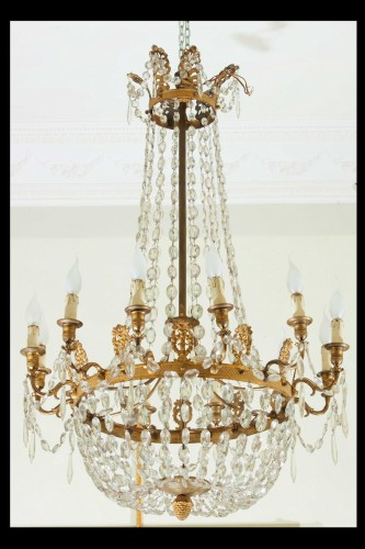 A Very Fine French Empire Chandelier  -