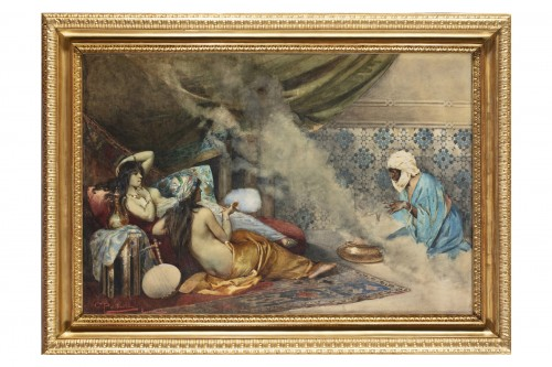 Orientalist Watercolor - Giancarlo Polidori