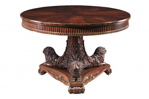 An Antique Mahogany Center Table
