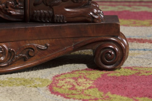 Furniture  - An Antique Mahogany Center Table