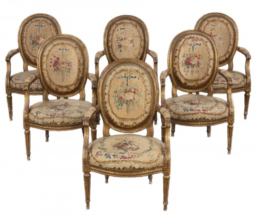 Mobilier de salon Louis XVI