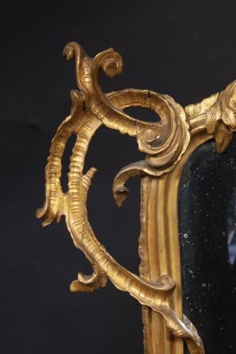 Mirrors, Trumeau  - Lombard-venetian Mirror In Golden Wood