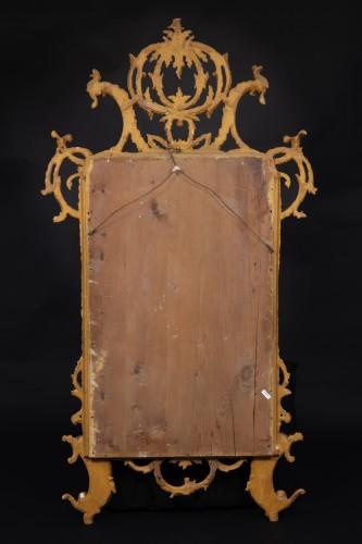 Lombard-venetian Mirror In Golden Wood -