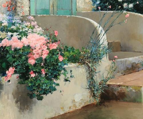 19th century - Grandma's birthday - Vincenzo Irolli (Naples 1860 - 1949)