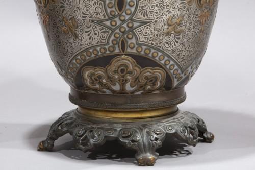 Porcelain & Faience  - Pair Of Large Porcelain Vases