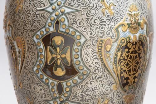 Pair Of Large Porcelain Vases -