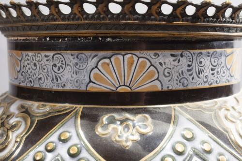 Antiquités - Pair Of Large Porcelain Vases
