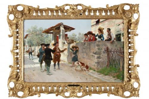 La serenata - Raffaello Sorbi (1844-1931)