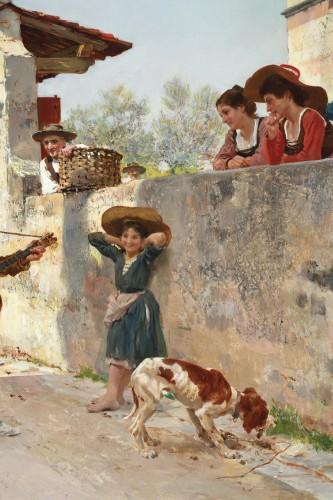 La serenata - Raffaello Sorbi (1844-1931) - Napoléon III