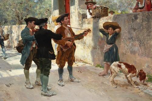Napoléon III - La serenata - Raffaello Sorbi (1844-1931)