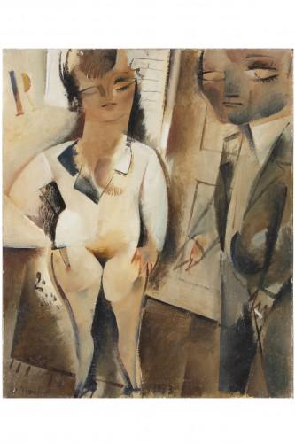 Alberto Manfredi (1930-2001) - Paintings & Drawings Style 50