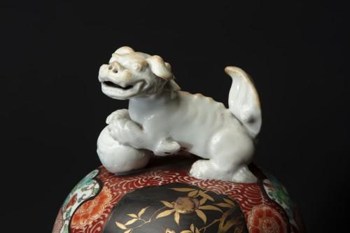 Pair Of 19th Century Japanese Imari Vases -
