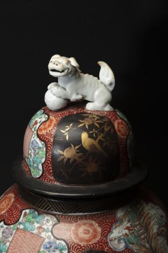 19th century - Pair Of 19th Century Japanese Imari Vases