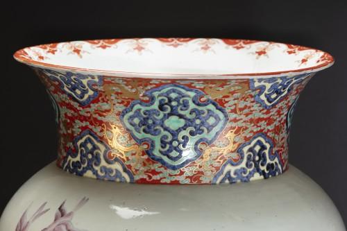 Porcelain & Faience  - Monumental Imari Vase