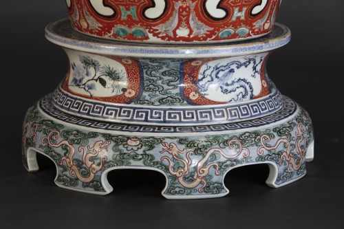 19th century - Monumental Imari Vase
