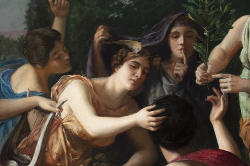 Paintings & Drawings  - Allegory of vices and virtues - Jules Joseph Lefebvre