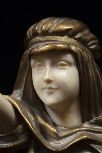 Art Déco - The Farewell - Chryselephantine By Demetre Chiparus