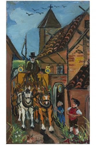 Horse-drawn - A.Ligabue (1899.1965)