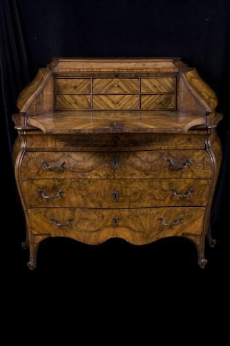 Mobile In Ribalta Lombardo Veneta Mid 18th Century - Furniture Style Louis XV