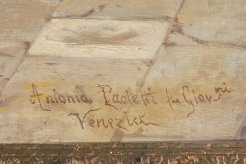 Paintings & Drawings  - Pair of paintings  - Antonio Ermolao Paoletti (1834 - 1912)